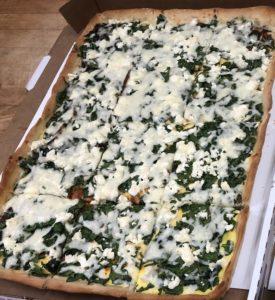 Breakfast Pizza -Greek Style