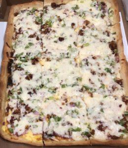 Breakfast Pizza -Western