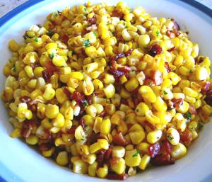 Corn w-Pancetta