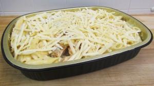 Family Dinner Pasta Alfredo Chicken