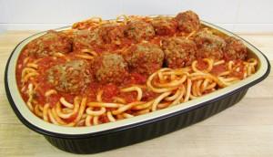 Family Dinner Spaghetti Meatballs
